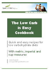 Low carb / Low GI Cookbook