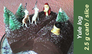 Recipe 3-16 yule log